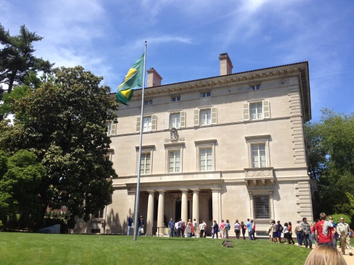 The ambassador's residence