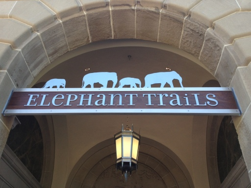 Elephant Trails is the new habitat for the Asian elephants at the National Zoo.