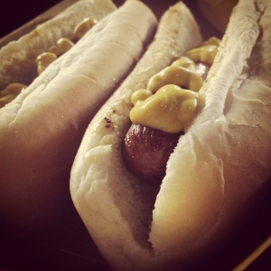 $1 dogs!