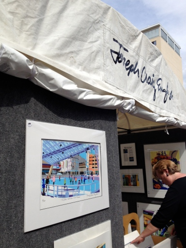 Maryland printmaker's works showcase local scenes from around the state and Washington, D.C.