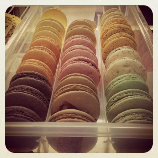 French macarons. So pretty.