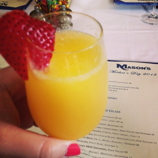 Mother's Day mimosa!