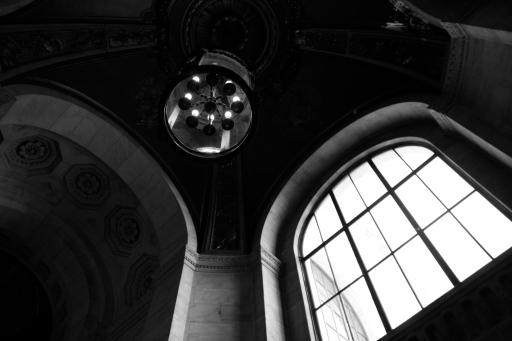 Library window