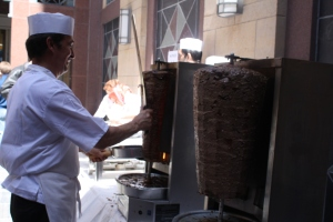 Doner cost $4 at the Turkish Embassy