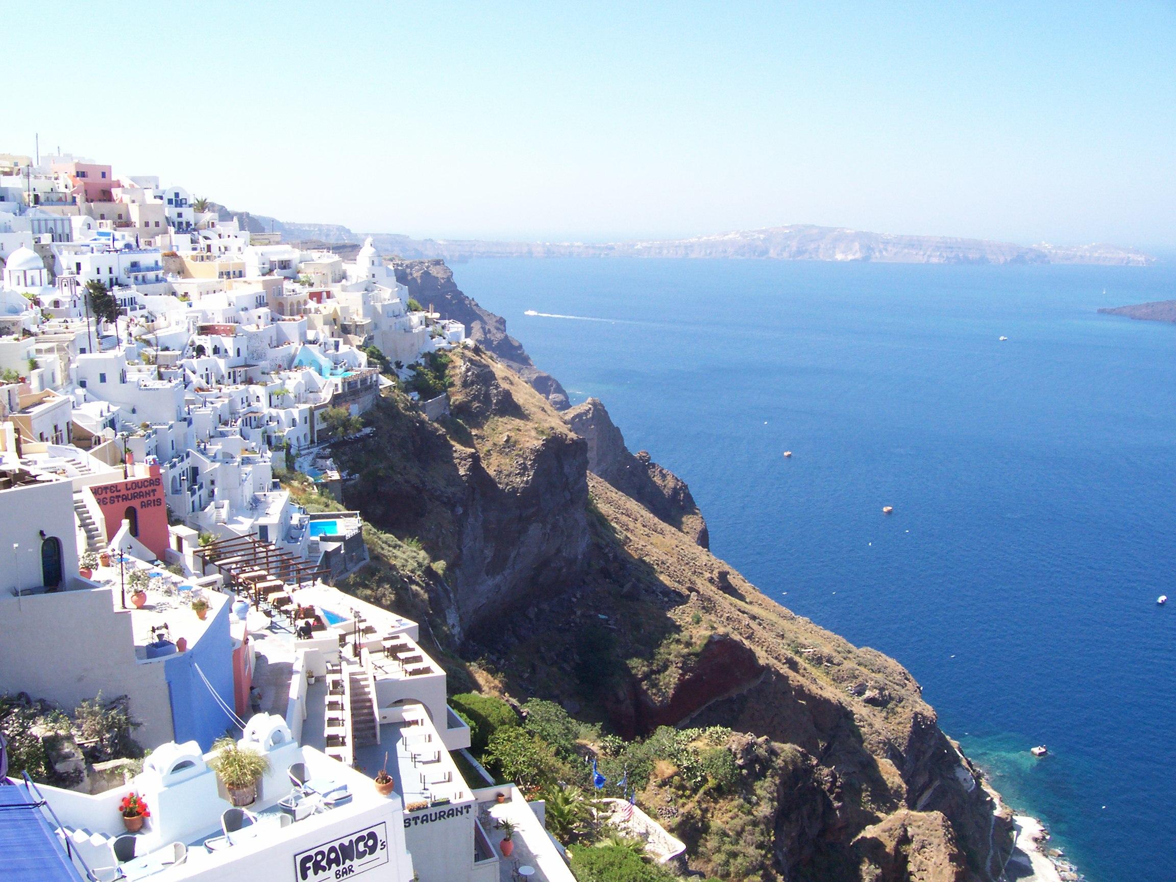 Photo Friday: Santorini, Greece   Where Erin Goes