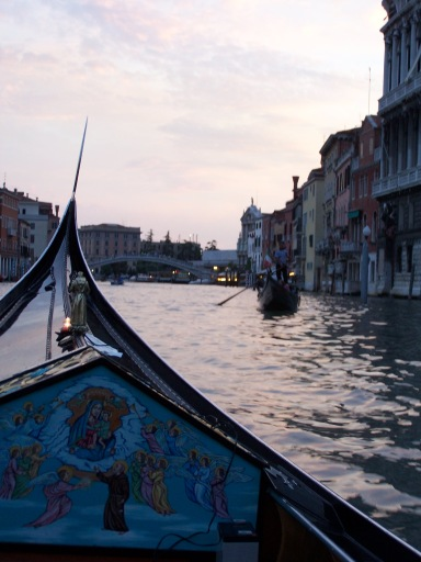 Our gondolier showed us where Casanova supposedly lived. I think he was likely a Cassanova, too.