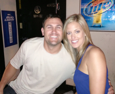 Mike and Ashlyn at Rippy's