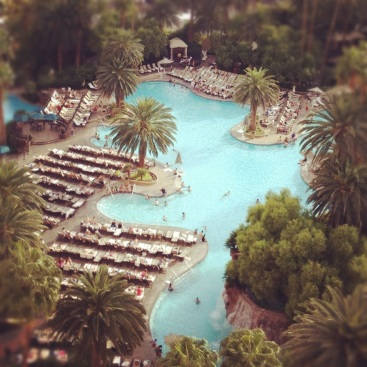 Pool at The Mirage