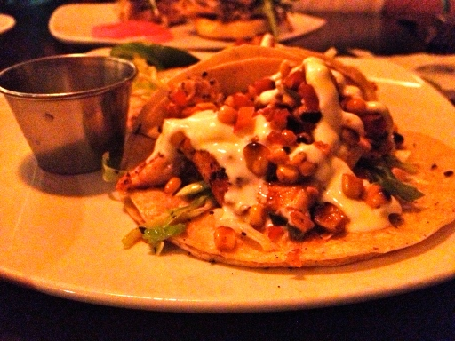 Delicious fish tacos!