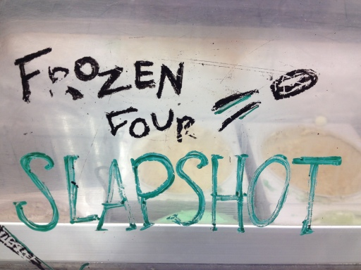 Frozen Four Slapshot, a flavor honoring the Spartans' hockey team