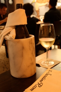 Duckhorn Chardonnay went down easy and paired nicely with the mix of seafood dishes we ate.