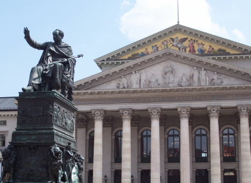 The  Nationaltheater München (National Theatre Munich) is an opera house in Max-Joseph-Platz.