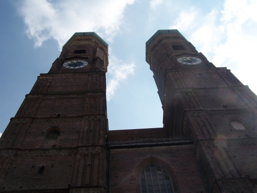 The Munich Frauenkirche is a symbol of the city.