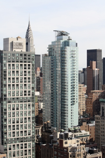 View of Chrysler Building