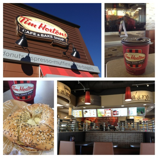 The new Tim Hortons on Michigan Avenue in Dearborn
