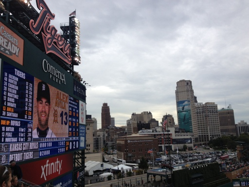 Alex Avila! Way to hit that second homer to win the game! Go Tigers!