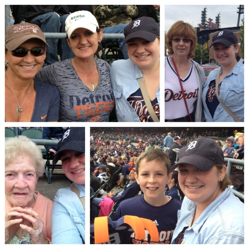 We're a family of Tigers fans even though most of us don't live near Detroit anymore.