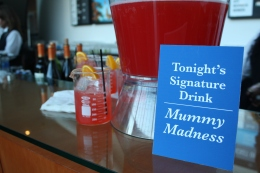 Signature drink: Mummy Madness