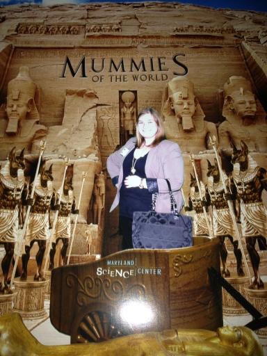 I'm a mummy explorer!