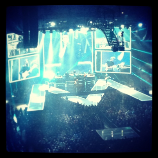 Maroon 5 concert in April 2013 at the Verizon Center in Washington, D.C.