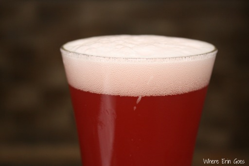 Uberbrew's RazzHands was a raspberry-infused Kolsch. Very refreshing on a hot summer day!