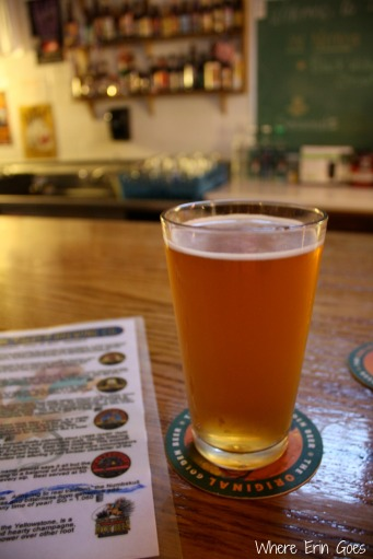 The Huckle Weizen at Yellowstone Valley Brewing Co.