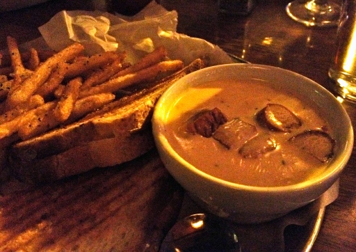 Cheese Overload? Hardly. You've got to try the cheese ale soup and grilled cheese at HopCat!