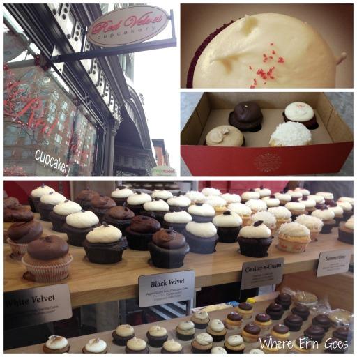 Red Velvet Cupcakery in Washington, D.C.