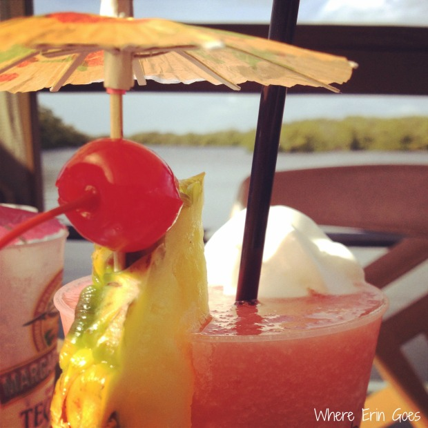 Strawberry daiquiri at Coconut Jack's Waterfront Grille in Bonita Springs, Fla. (Instagram photo by @erinklema)