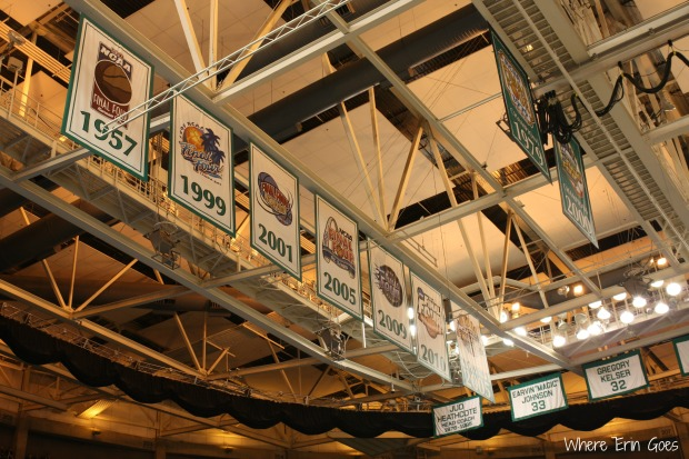 Hopefully adding another one of these banners soon! (Photo by Erin Klema.)