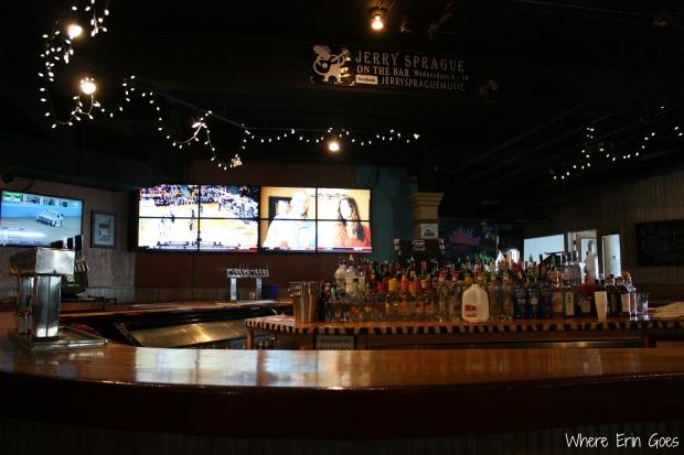 Inside Harper's Restaurant and Brewpub on March 1, 2014. (Photo by Erin Klema.)