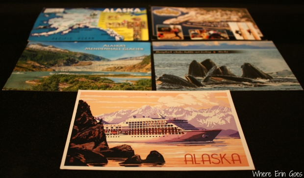 Postcards from around Alaska
