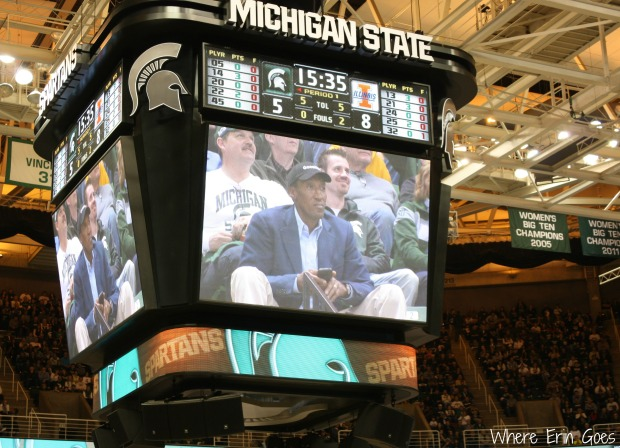 Chicago Bulls great Scottie Pippen is in the house! (Photo by Erin Klema.)