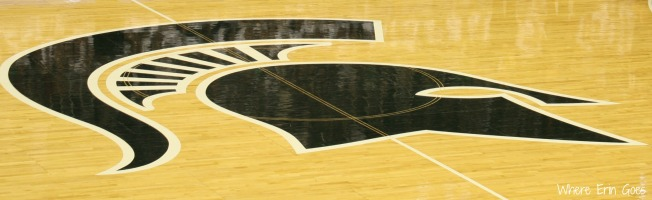 Breslin Center Court | Where Erin Goes