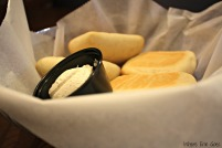Delicious complimentary bread and butter at Detroit Seafood Market (Photo by Erin Klema)