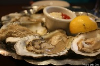 Oysters on the half shell at Detroit Seafood Market (Photo by Erin Klema)