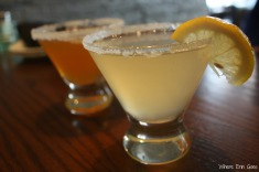 The Peach Dream and Remy Sidecar cocktails were well-mixed libations. (Photo by Erin Klema)
