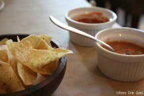 Chips and salsa start a delicious meal at Frida in Dearborn, Mich. (Photo by Erin Klema)