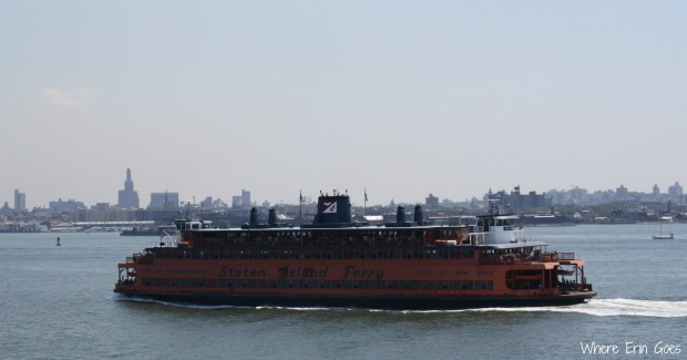 The Staten Island Ferry runs 24/7 and is free to ride at any time. (Photo by Erin Klema)