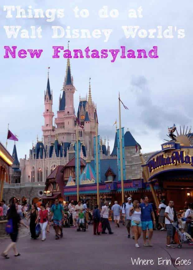 Ten things to do in Fantasyland at Disney's Magic Kingdom Theme Park
