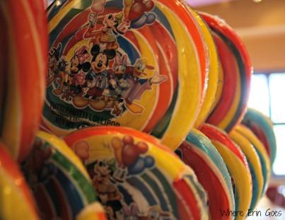 Disney lollipops!