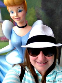 Hanging with Cinderella!