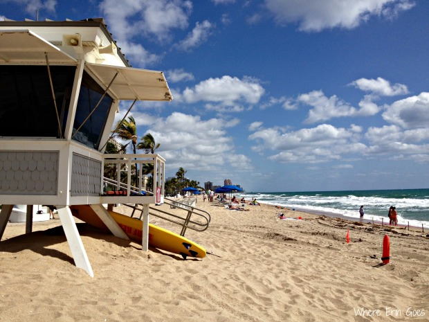 Fort Lauderdale Beach (Photo by Erin Klema)