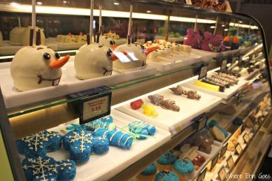 """Frozen"" treats at Goofy's Candy Co."