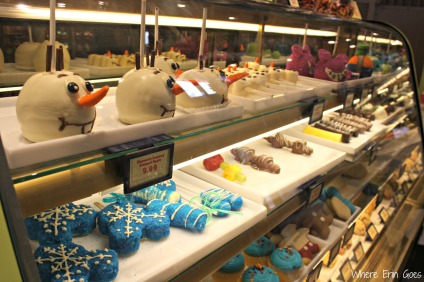"""Frozen"" treats at Goofy's Candy Co."