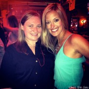 Celebrating bachelorette weekend in Nashville with the bride-to-be, Ashlyn. (Instagram photo via @erinklema)