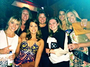 Ashlyn's bachelorette party at The Stage. (Photo courtesy of Niki Lawn)