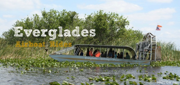 Airboat rides in Florida Everglades