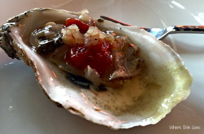This oyster was delicious. (Photo by Erin Klema)