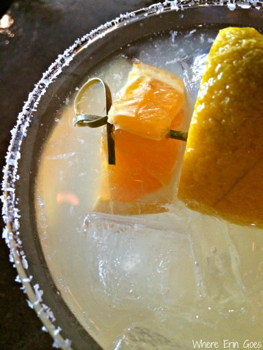 This delicious margarita is made with fresh lime juice rather than sour mix. (Photo by Erin Klema)